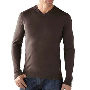 Smartwool Lightweight Front Range V-Neck Sweater